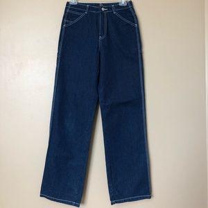 {GAP} Vintage Indigo Mid Rise Wide Leg Jeans